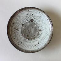 八田亨:三島手6寸皿(4)