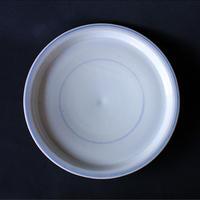 小泉敦信:青花輪線平皿(2)