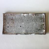 八田亨:白掛板皿(3)