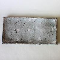 八田亨:白掛板皿(2)