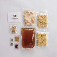 秘伝国産牛もつ鍋-醤油味-(2~3人前)特製〆ちゃんぽん麺セット