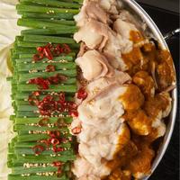 SOUP CURRY風 国産牛もつ鍋-カレー味-(2~3人前)特製〆ちゃんぽん麺セット