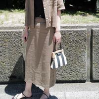 【Re Stock】リネンタイトスカート