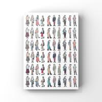 ファッションイラストシート vol.3