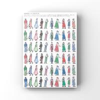 ファッションイラストシート vol.1