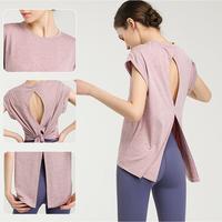 バックスリットTシャツ TP018