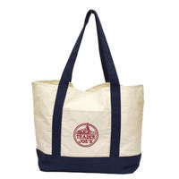 TRADER JOE'S CANVAS BAG〈bg-25〉【メール便送料無料】