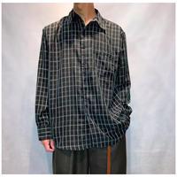 1990s ポリプレイドシャツ