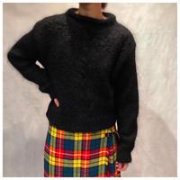 【レディース】1980s モヘアデザインニットセーター