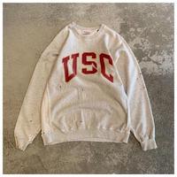 1990s カレッジプリントスウェットシャツ USA製