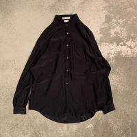 1980s オーバーサイズシルクシャツ