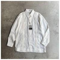 1990s リネンキューバシャツ デッドストック