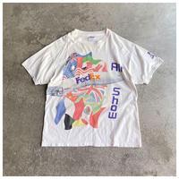 "1990s ""FedEx"" プリントTシャツ"