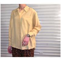 【レディース】 1990s シルクオープンカラーシャツ