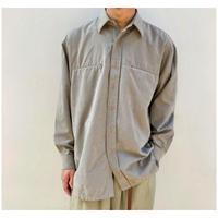1990s フェイクスウェードシャツ