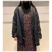 80年代 レザー羽織りジャケット