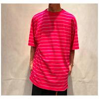 1990s コットンブレンドボーダーTシャツ USA製