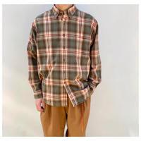 1990s コットンシャドープレイドシャツ