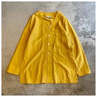 1990s シルクブレンドカラーレスシャツ