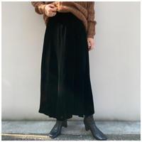 【レディース】1990s ベロアマキシ丈スカート USA製