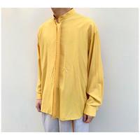 1990s レーヨンブレンドスタンドカラーシャツ