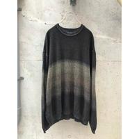 90年代 レーヨンブレンドデザインニットセーター
