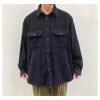 1990s  太畝コーデュロイシャツ