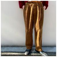 """1990s """"Ralph Lauren"""" 太畝コーディロイ2タックワイドパンツ"""