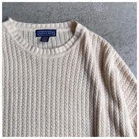 1990s コットンブレンドニットセーター