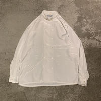 1990s ポリ総柄シャツ フランス製