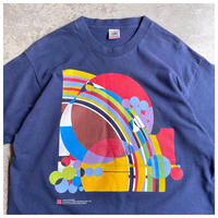 "1990s ""Frank Lloyd Wright"" プリントTシャツ USA製"