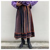 【レディース】1970s ベロアデザインスカート USA製