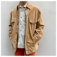 1990s スウェードシャツジャケット
