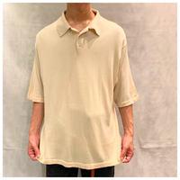 1990s シルクニットポロシャツ