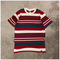 1990s コットンボーダーTシャツ USA製