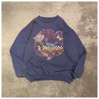 1990s プリントスウェットシャツ