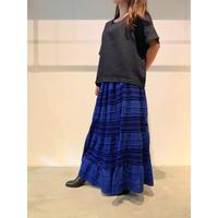 【レディース】インド綿コットンデザインマキシスカート