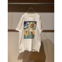 """90年代 """"NIGHT SUNFLOWERS"""" プリントTシャツ"""