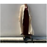 80年代 ペイズリー柄ロングシャツコート インド製