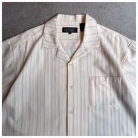 1990s ポリブレンドオープンカラーシャツ