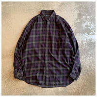 "1990s ""Ralph Lauren BLAKE""コットンプレイドBDシャツ インド製"