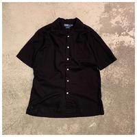 "1990s ""Ralph Lauren CALDWELL"" コットンオープンカラーシャツ"