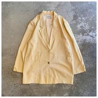1990s オーバーサイズシルクジャケット カナダ製
