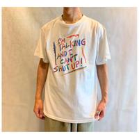 "1990s ""STUDIO 4 EAST"" プリントTシャツ USA製"