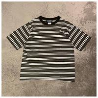 1990s ユーロコットンボーダーTシャツ