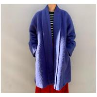 1980s モヘアブレンド羽織コート