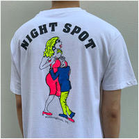 "1990s ""NIGHT SPOT"" プリントTシャツ USA製"