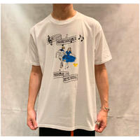 "1990s ""DANCING"" プリントTシャツ USA製"