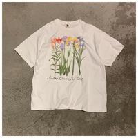 1990s フラワープリントTシャツ