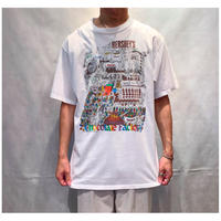 "1990s ""HERSHEY'S"" プリントTシャツ USA製"